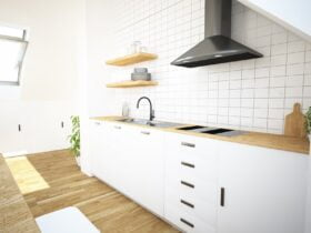 kuchnia na poddaszu